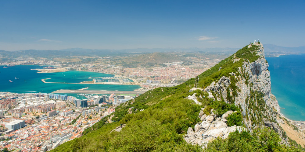Rocky mountain, Gibraltar