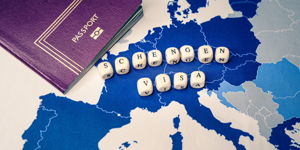 Passport and Schengen Visa message